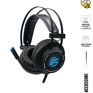 FENNER CUFFIE GAMING SOUNDGAME ELITE PC/CONSOLE + MIC.