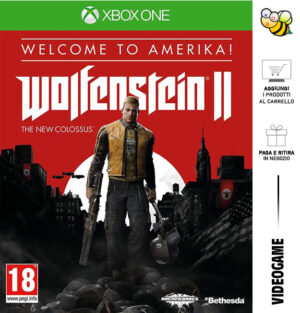 Wolfenstein II: The New Colossus - Welcome To Amerika! Edition