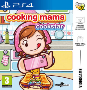 Cooking Mama: Cookstar - Day One 23/07/2021