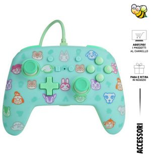 Controller Enhanced Wired Power A - Animal Crossing