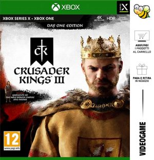 Crusader Kings III Day One Edition - Day One 31/12/2021